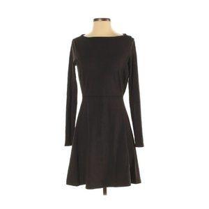 Athleta Long Sleeve Black Dress
